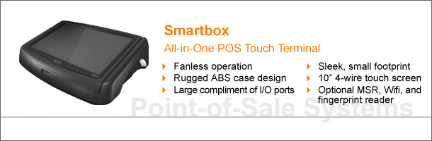 touch screen monitor all-in-one pos terminal